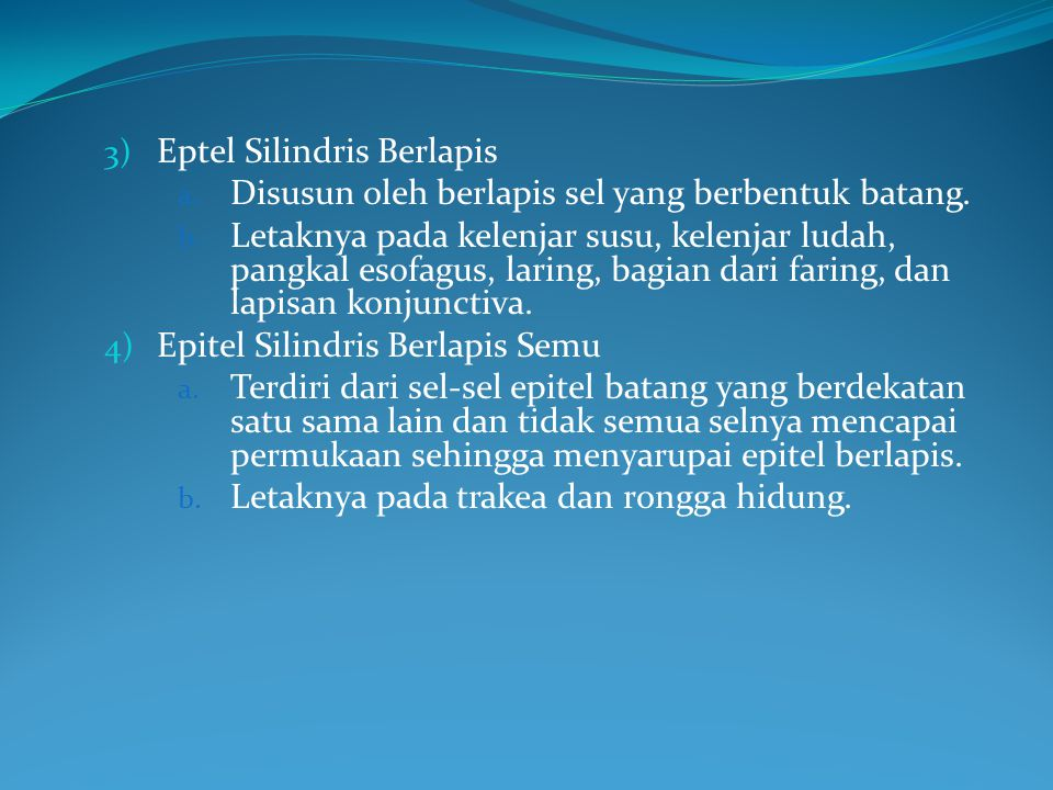 Eptel Silindris Berlapis