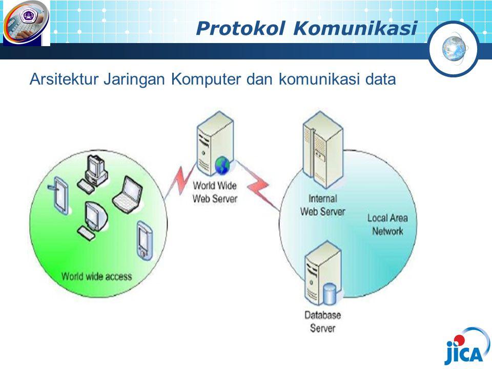 Protokol Komunikasi Arsitektur Jaringan Komputer dan komunikasi data