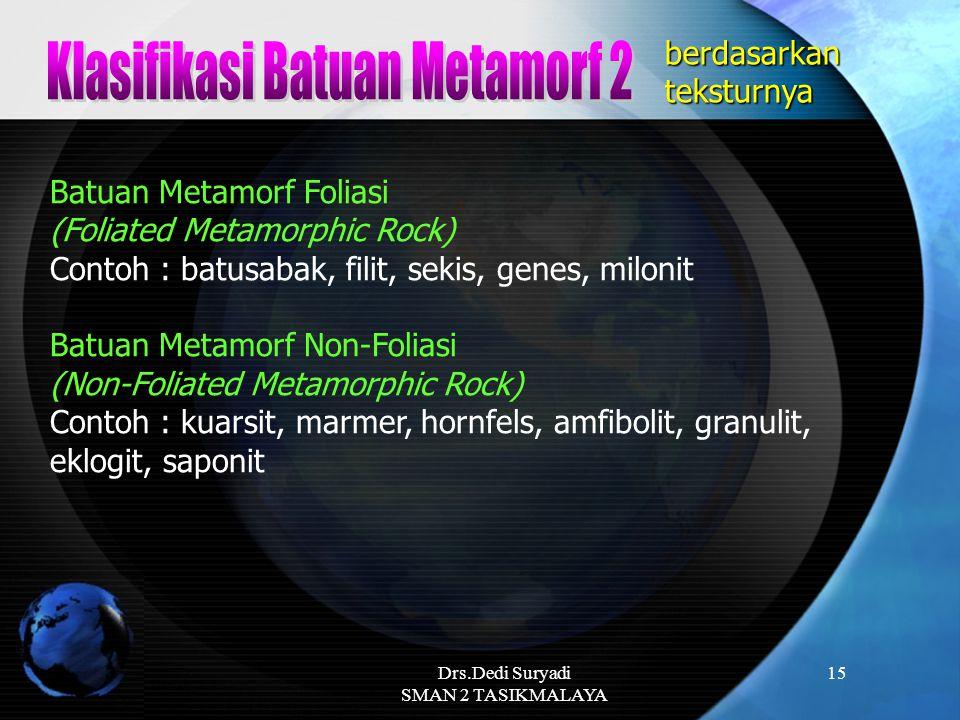Klasifikasi Batuan Metamorf 2