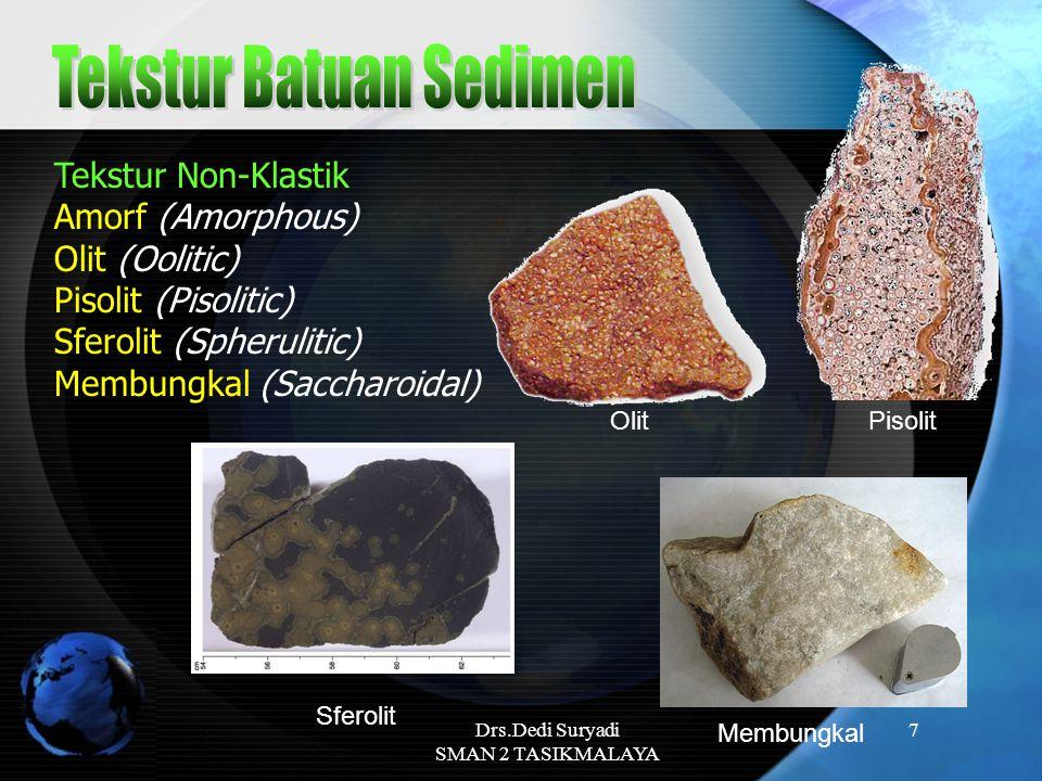 Tekstur Batuan Sedimen