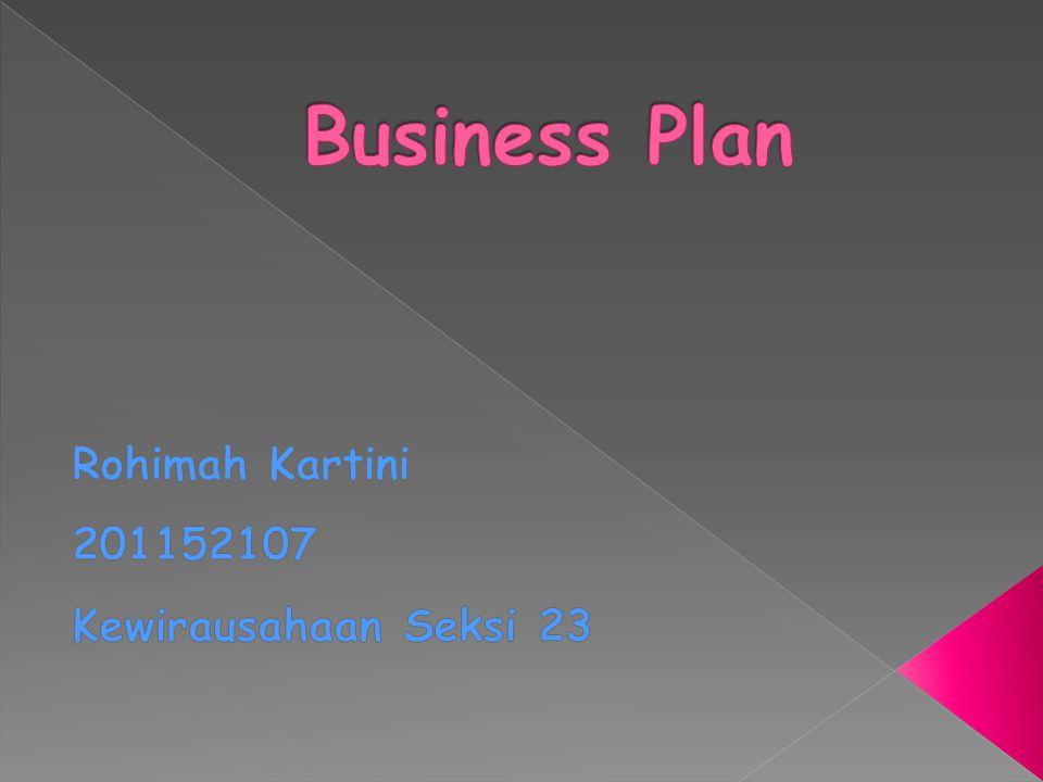 Rohimah Kartini 201152107 Kewirausahaan Seksi 23