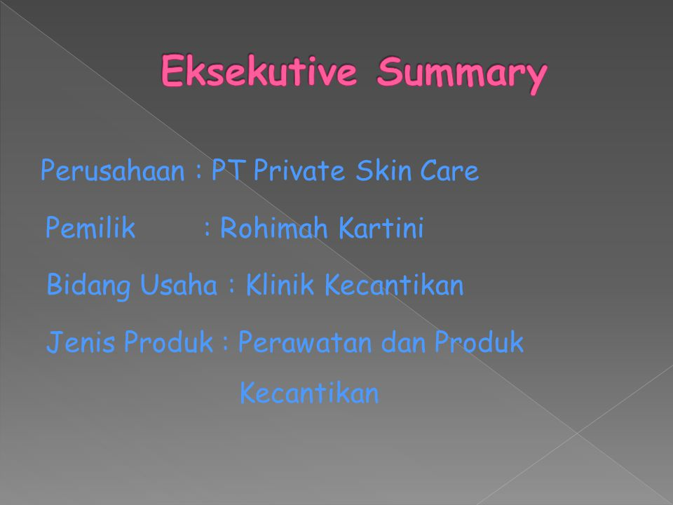 Eksekutive Summary
