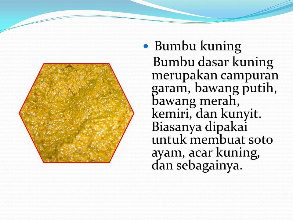 Bumbu kuning