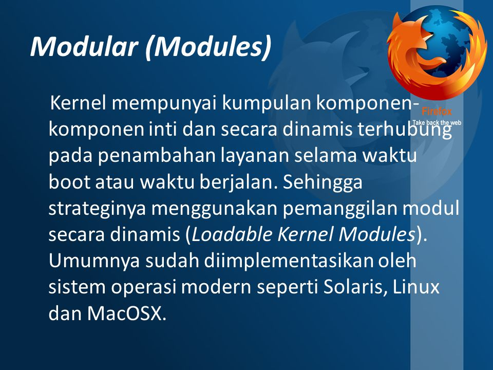 Modular (Modules)