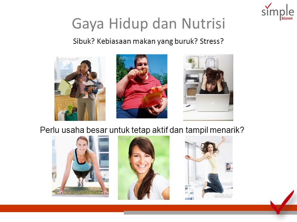 Gaya Hidup dan Nutrisi Sibuk Kebiasaan makan yang buruk Stress