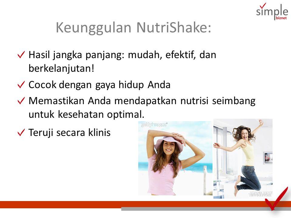 Keunggulan NutriShake: