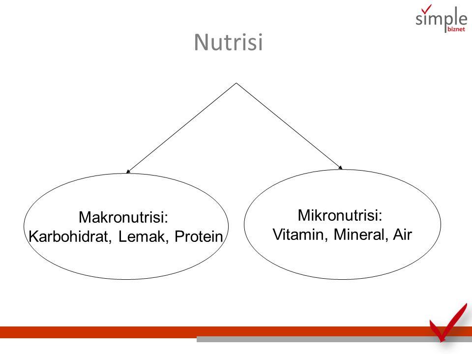 Karbohidrat, Lemak, Protein