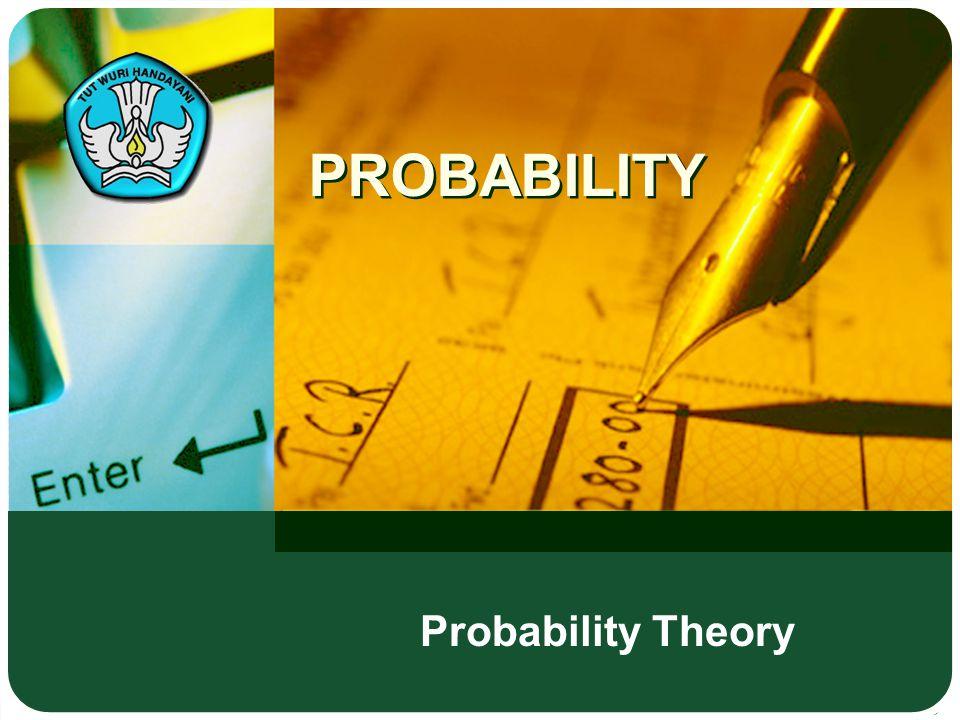 PROBABILITY Probability Theory