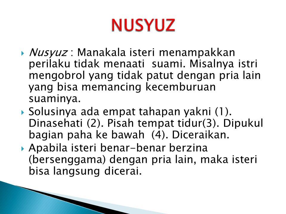 NUSYUZ