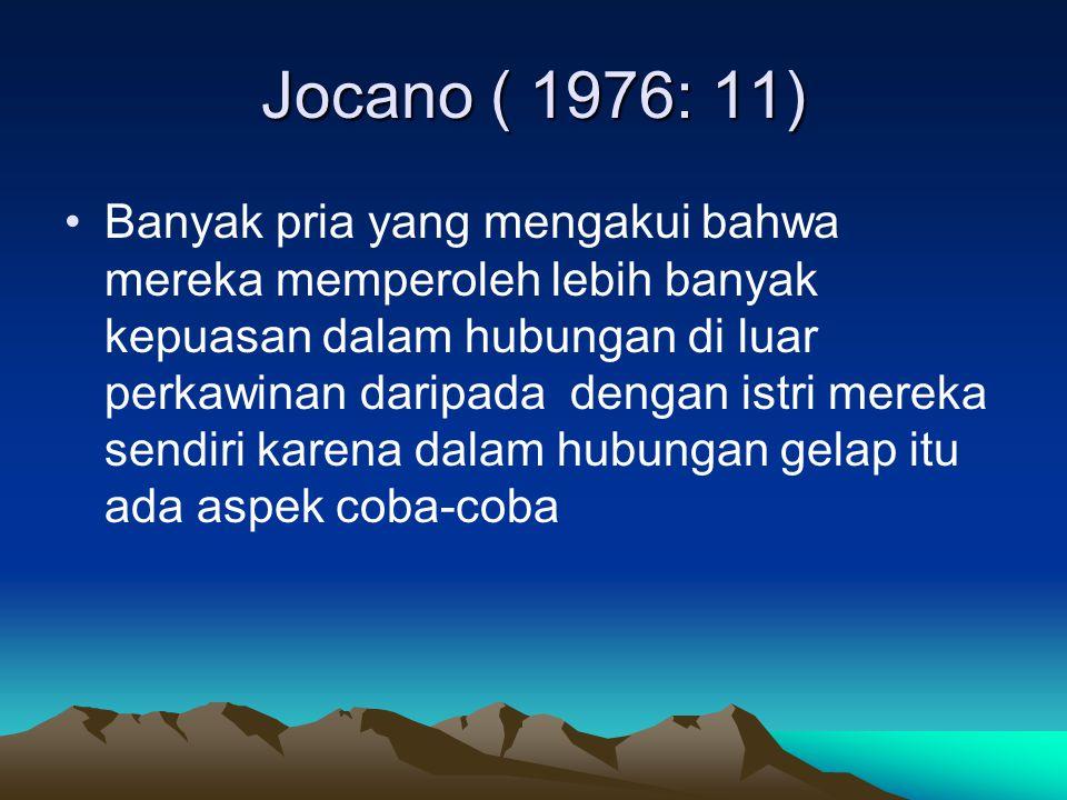 Jocano ( 1976: 11)