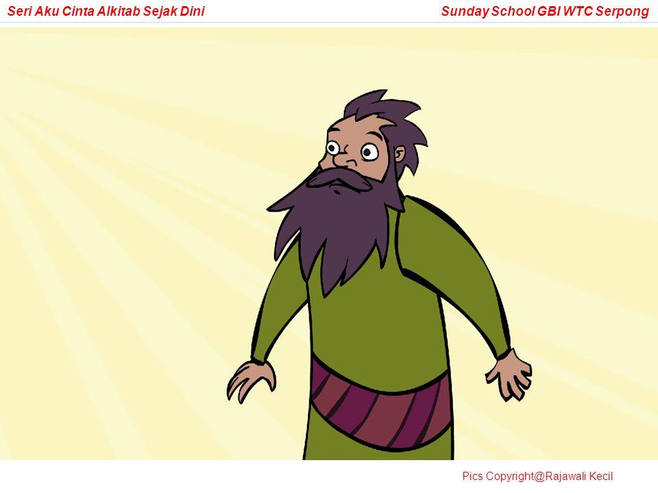 Tiba-tiba Tuhan menemui Abram lagi dan mengingatkan kembali janjiNya:
