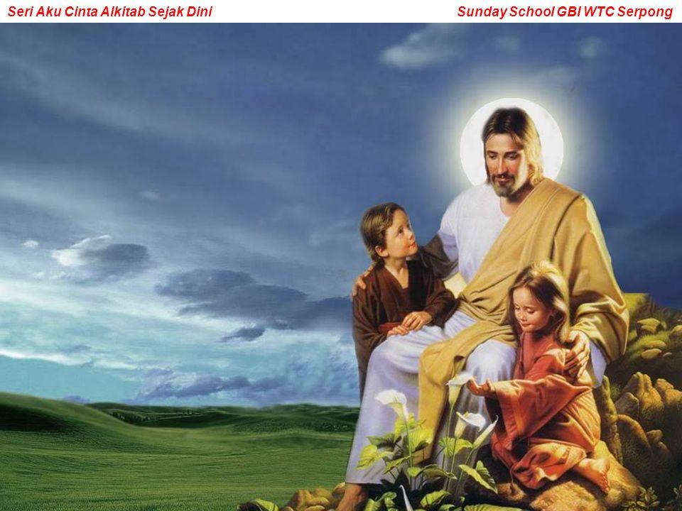 Bukan hanya masuk sorga, tapi kamu akan menjadi anak-anak kesayangan Tuhan.