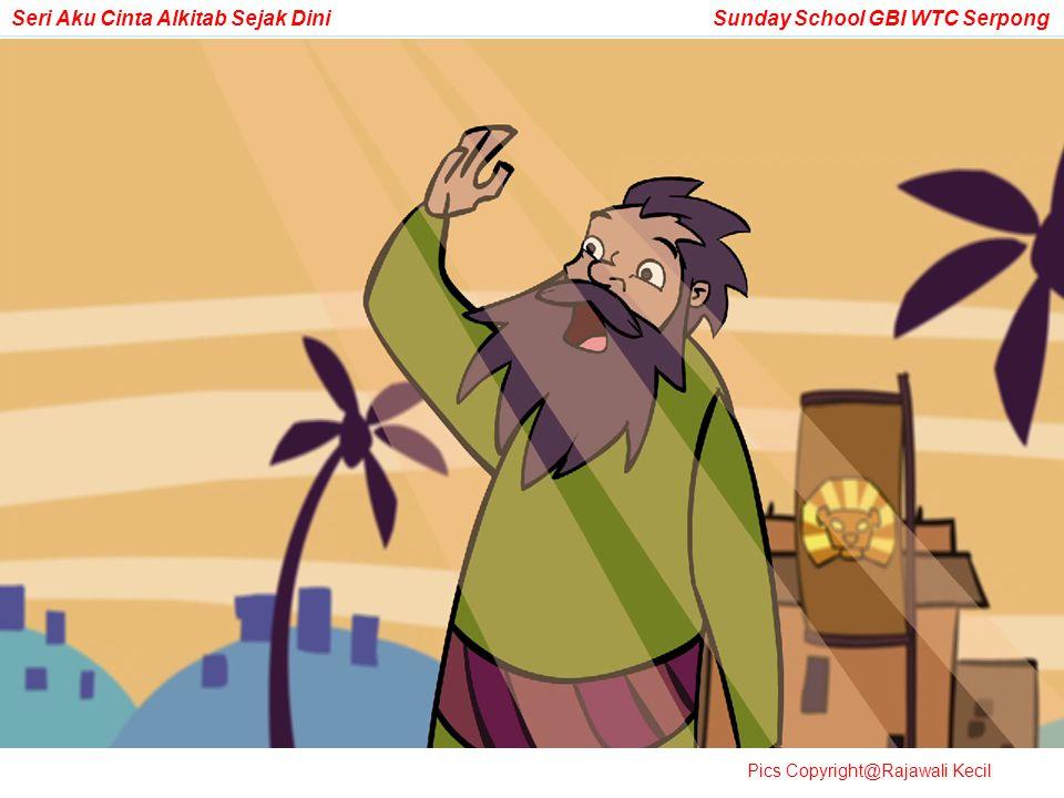 Tapi suatu hari, Tuhan datang dan berfirman kepadanya: Hai Abram…pergilah dari rumahmu, dari keluargamu…ke sebuah tempat yang akan Kutunjukkan kepadamu.