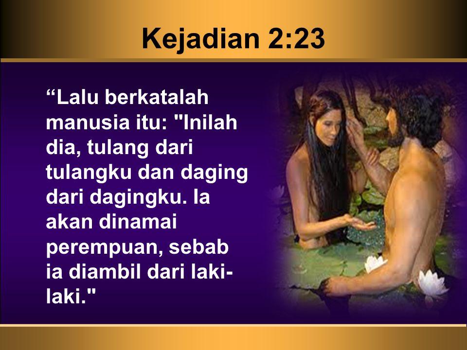 Kejadian 2:23
