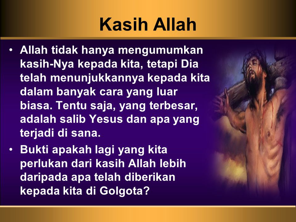 Kasih Allah