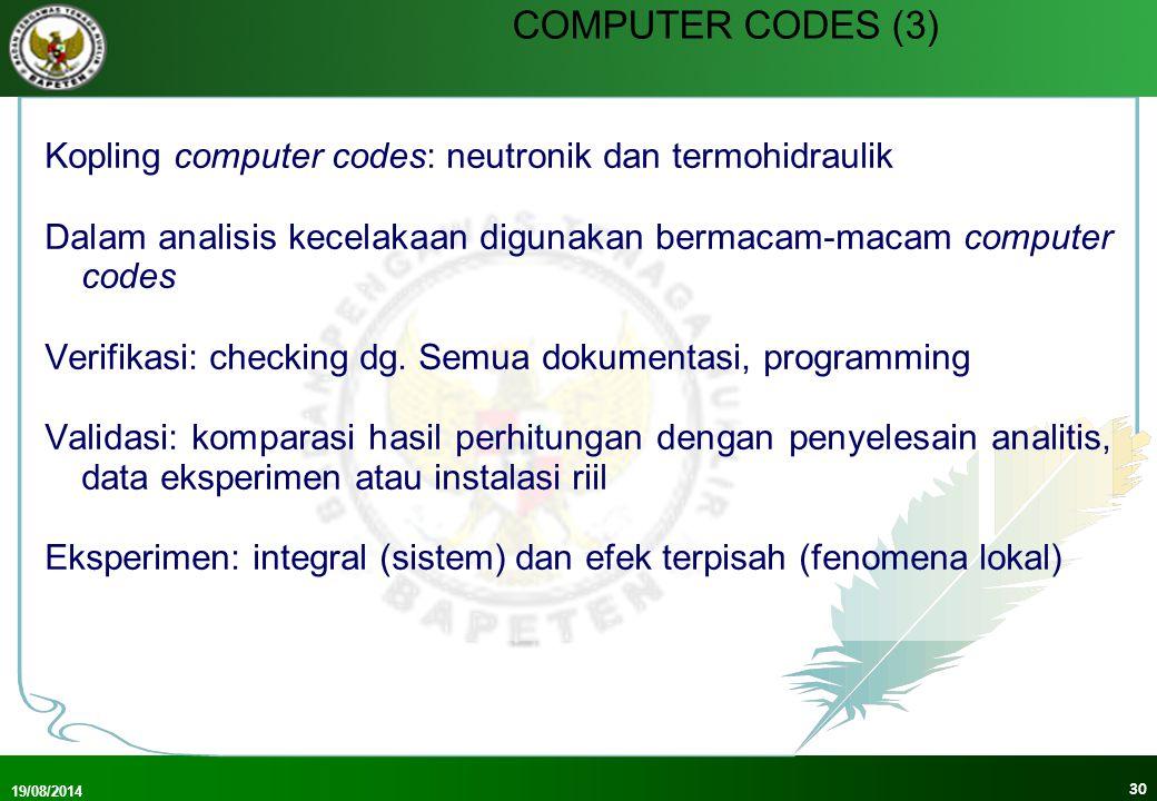 COMPUTER CODES (3)