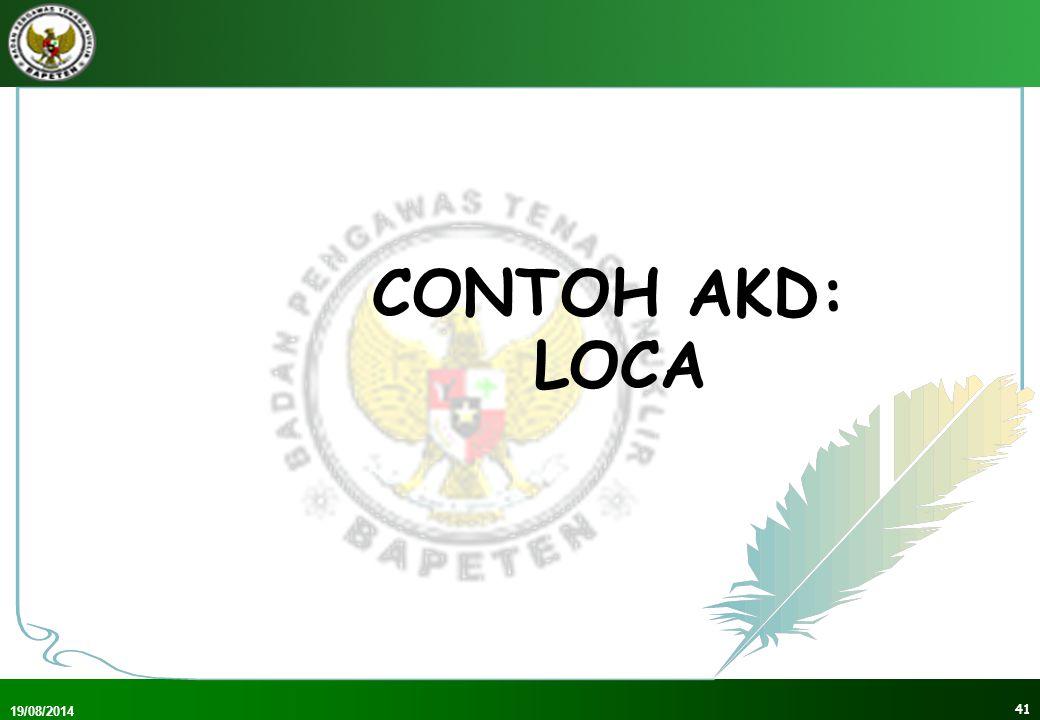 CONTOH AKD: LOCA