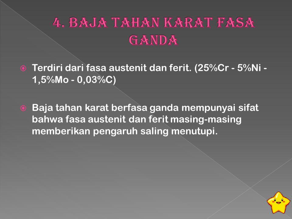 4. Baja Tahan Karat Fasa Ganda