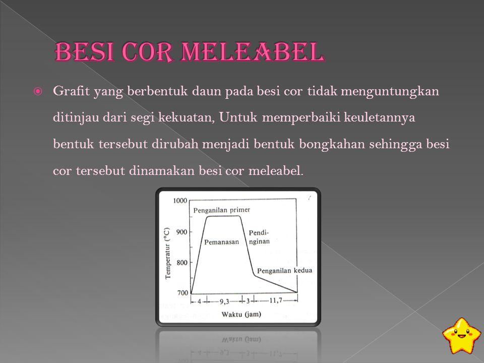 Besi Cor Meleabel