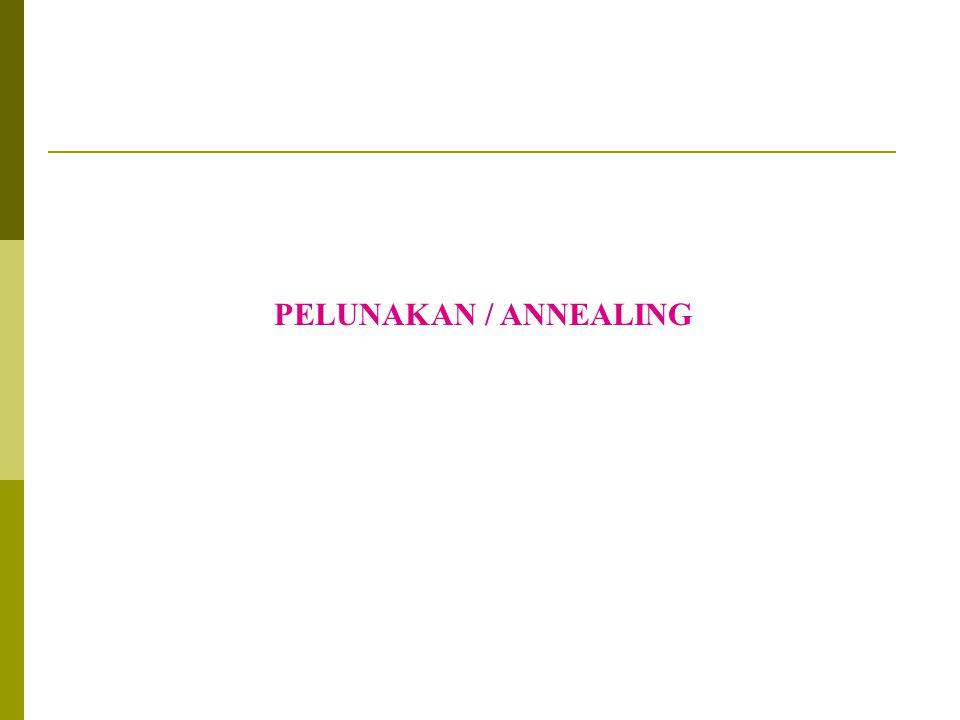 PELUNAKAN / ANNEALING