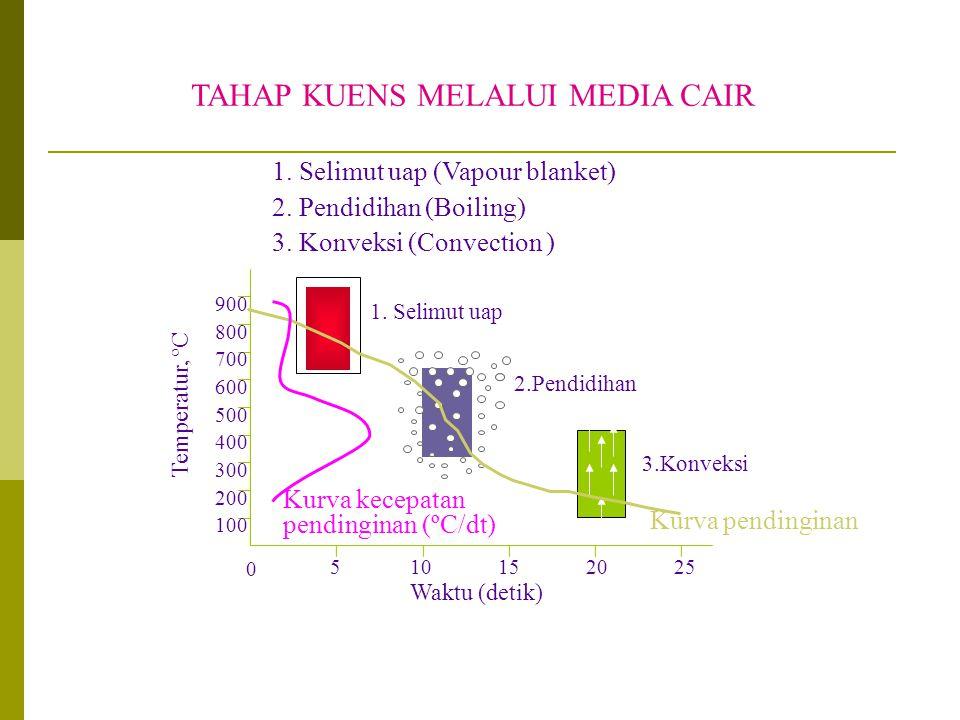 TAHAP KUENS MELALUI MEDIA CAIR