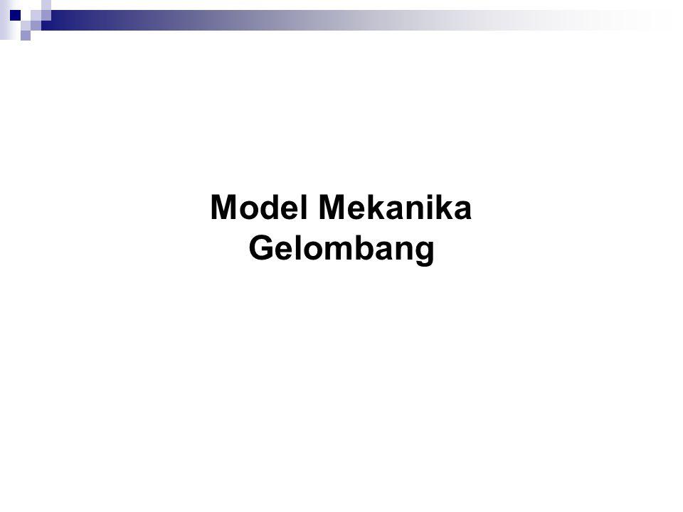Model Mekanika Gelombang