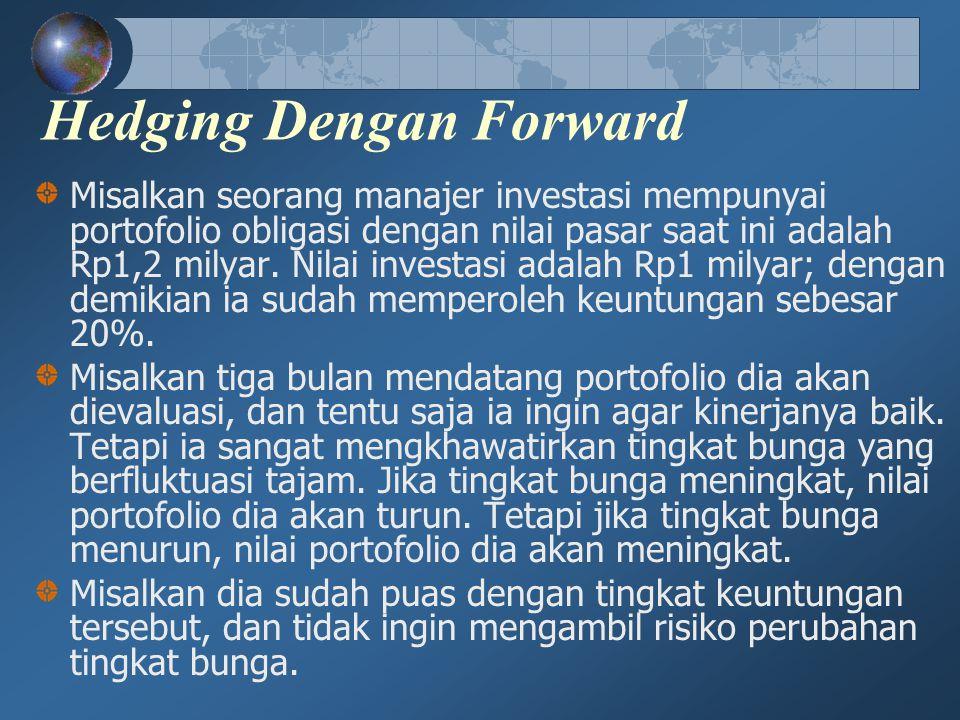 Hedging Dengan Forward