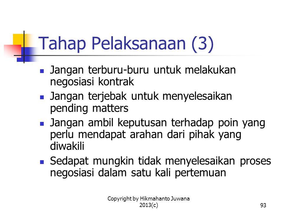 Copyright by Hikmahanto Juwana 2013(c)