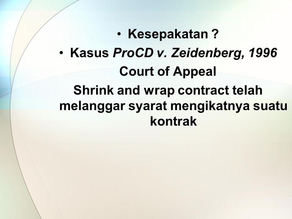 Kasus ProCD v. Zeidenberg, 1996