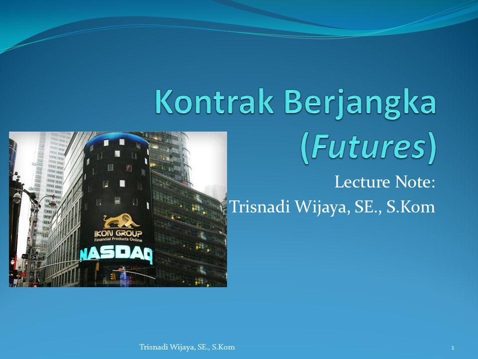 Kontrak Berjangka (Futures)