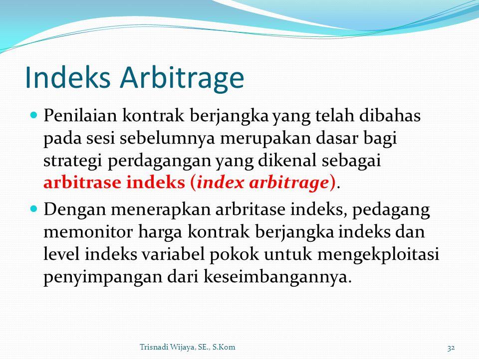 Indeks Arbitrage
