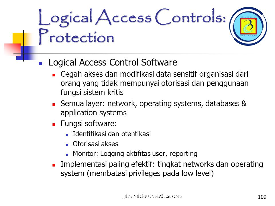 Logical Access Controls: Protection