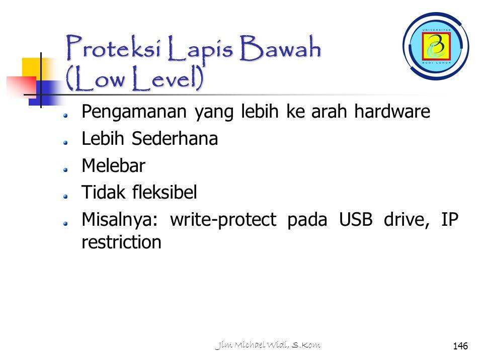 Proteksi Lapis Bawah (Low Level)