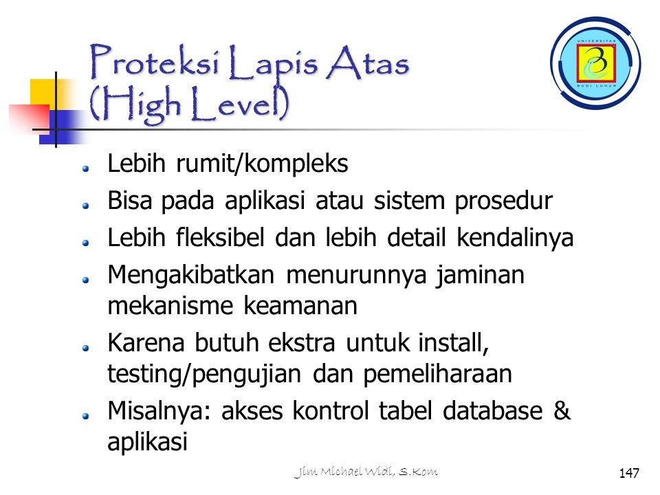 Proteksi Lapis Atas (High Level)