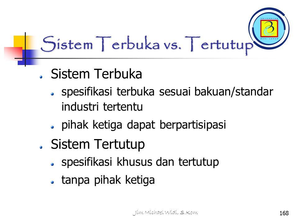 Sistem Terbuka vs. Tertutup