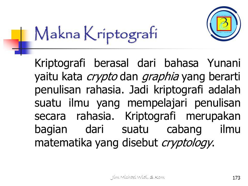 Makna Kriptografi