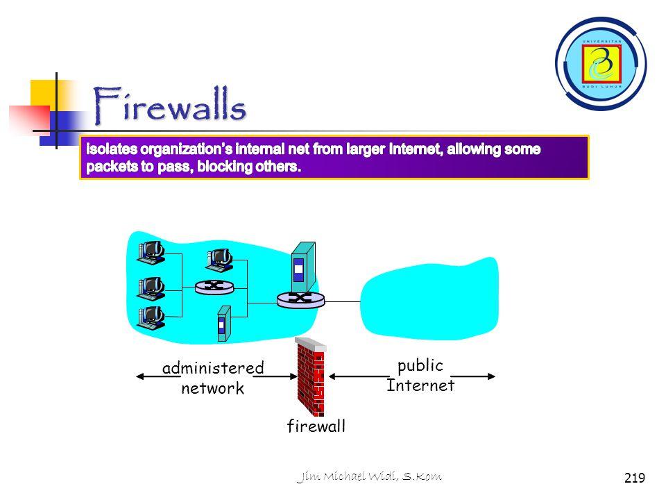 Firewalls public administered Internet network firewall