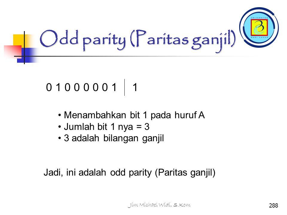 Odd parity (Paritas ganjil)