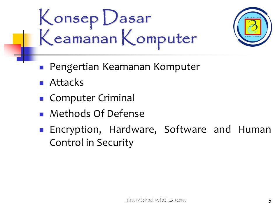 Konsep Dasar Keamanan Komputer