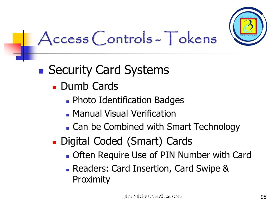 Access Controls - Tokens