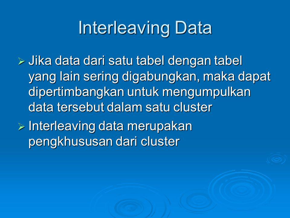 Interleaving Data