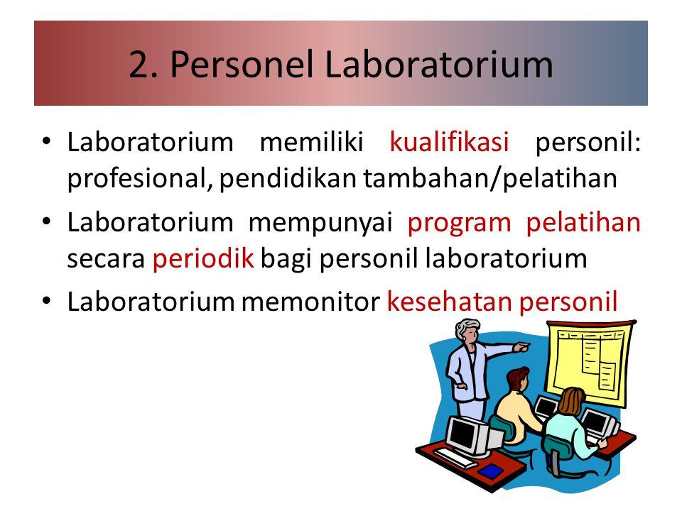 2. Personel Laboratorium