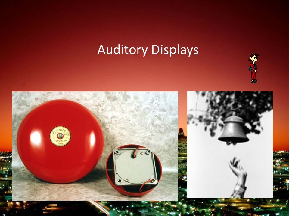 Auditory Displays