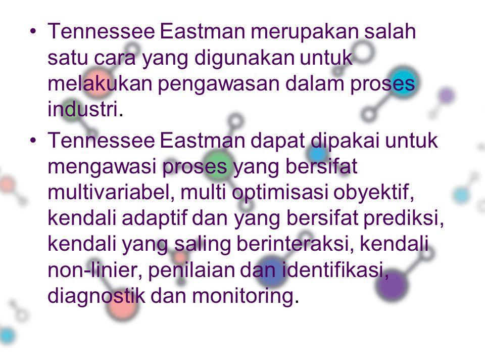 Tennessee Eastman merupakan salah satu cara yang digunakan untuk melakukan pengawasan dalam proses industri.