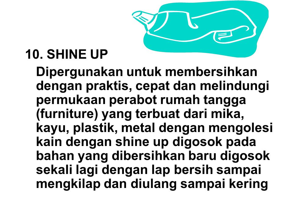 10. SHINE UP