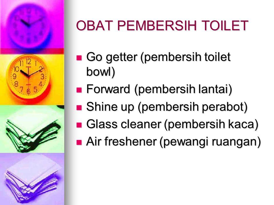 OBAT PEMBERSIH TOILET Go getter (pembersih toilet bowl)