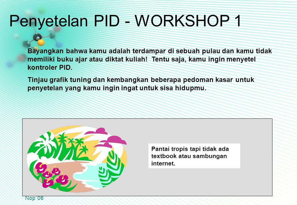 Penyetelan PID - WORKSHOP 1