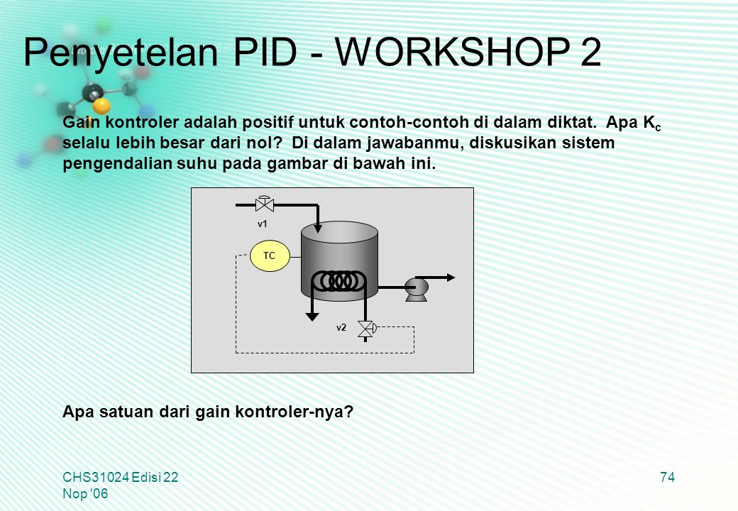 Penyetelan PID - WORKSHOP 2