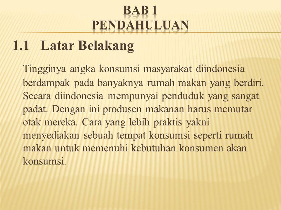 BAB 1 PENDAHULUAN 1.1 Latar Belakang.