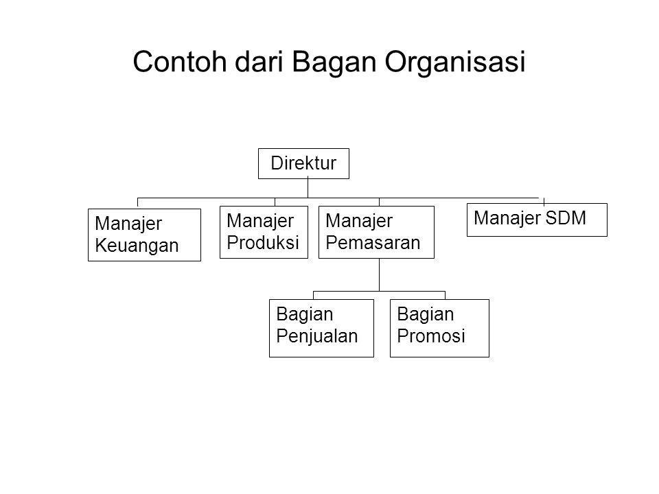 Contoh dari Bagan Organisasi